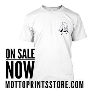 JJmotto. Grab your art tee at mottoprintsstore.com