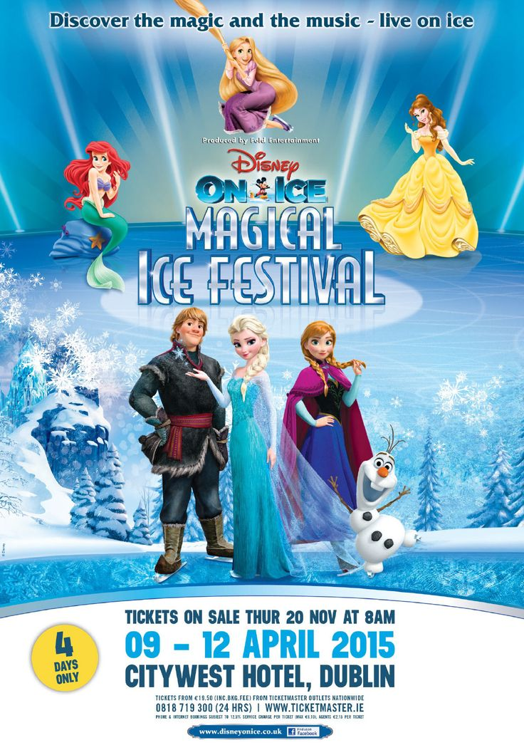 Disney On Ice: 100 Years of Magic Citywest Hotel, Dublin 9-12 April 2015