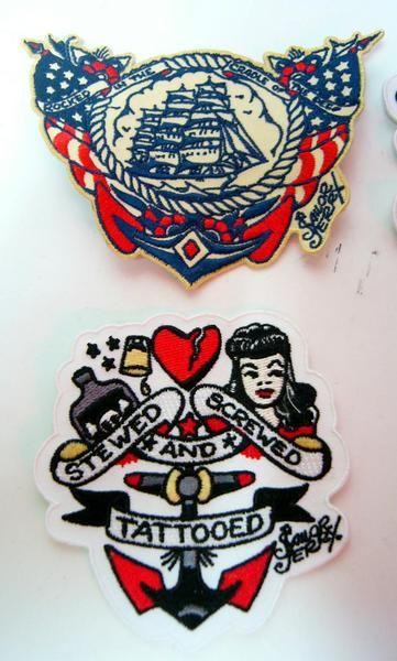 バンドTシャツ 通販 SailorJerry セーラージェリー ワッペン 販売 パッチ 雑貨 商品詳細 ロックTシャツ、バンドTシャツ、ラットフィンク、ラッキー13等のTシャツやアメリカ雑貨、TOYの通販サイト | マンブルズ(MUMBLES)