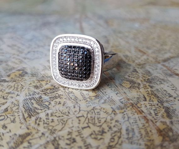 Mens Statement Ring Mens Pinky Ring Unisex by UrbanCoutureJewelry