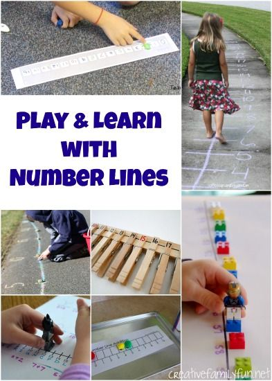 Creative Family Fun: Play and Learn with Number Lines