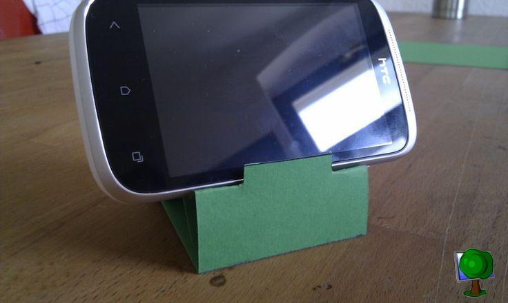 iPhone Paper Dock - nicht nur für iPhones geeignet
