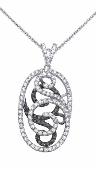 27 best jewelry images on pinterest black and white simon g black and white diamond necklace mozeypictures Gallery
