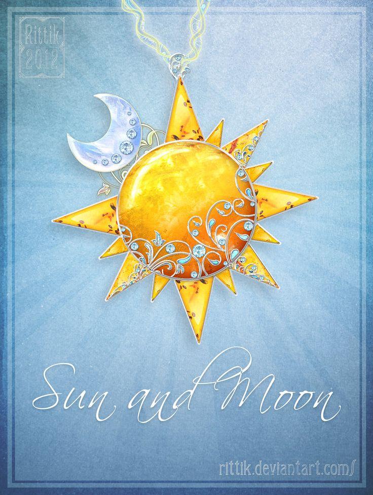 Amulet+-+Sun+and+Moon+by+Rittik.deviantart.com+on+@DeviantArt