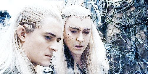 someone knocked the ice-cream off Thranduil's cone and he is sad so Legolas is going to beat him up. <<<< What. Even??