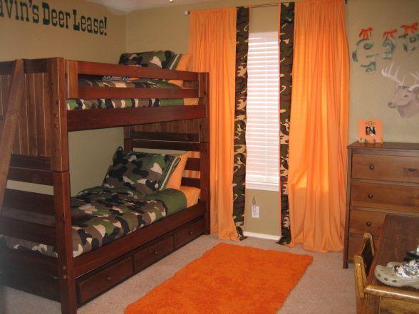 hunting bedroom ideas | Gavin's Deer Hunting Room - Boys' Room Designs - Decorating Ideas ...