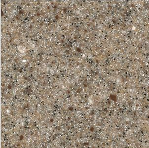 Solid Surface Aspen Brown By Staron Countertops