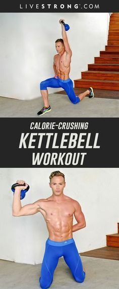 A Cardio Kettlebell Workout That Will Crush Calories