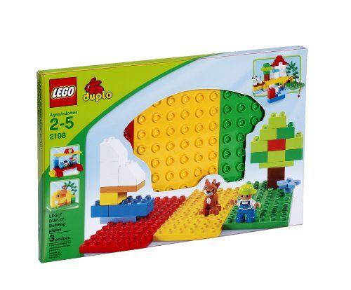 LEGO Duplo 2198 - 3 Bauplatten - rot / grün / gelb Lego http://www.amazon.de/dp/B0001W8KCW/ref=cm_sw_r_pi_dp_RKPtub0T7E791