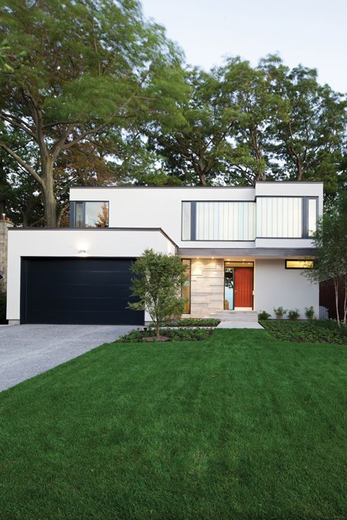 Scarborough bluffs in Toronto. Taylor Smyth Architects.: Dreams Homes, White Houses, Perfect Houses, Modern Architecture, Architecture Category, Architects Photos, My Dreams Houses, Modern Houses White, Modern Home