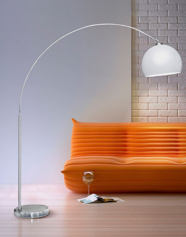 Curved floor lamp 25 pinterest prandavalgusti gio gio is the most popular curved floor lamp in this luminaire you can find perfect combination of simplicity and efficiency mozeypictures Gallery
