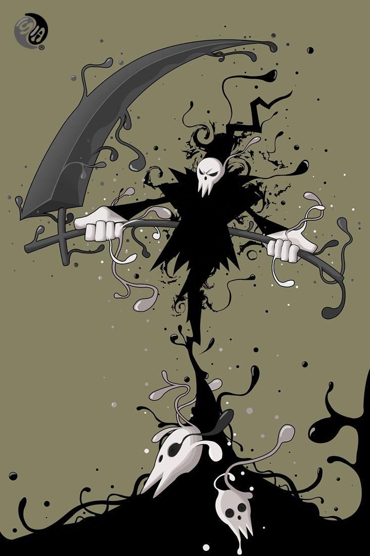 Fading Shinigami - Soul Eater by sbalac.deviantart.com on @deviantART