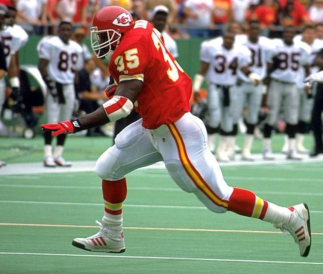 RB Christian Okoye, The Nigerian Nightmare - Kansas City Chiefs