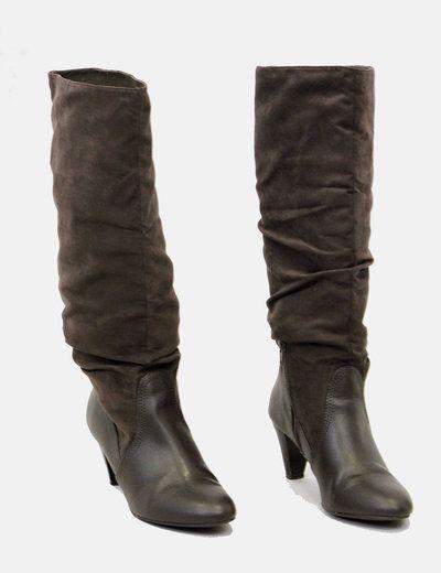 Zara Botas altas marrones 6.50€
