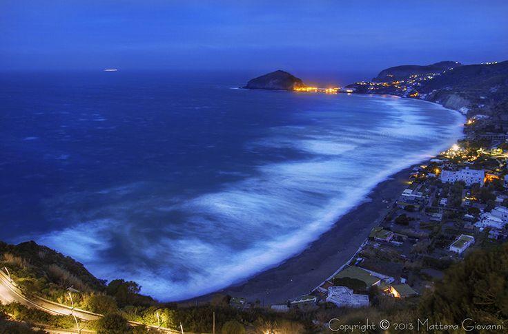 Ischia - Maronti in notturna - Foto