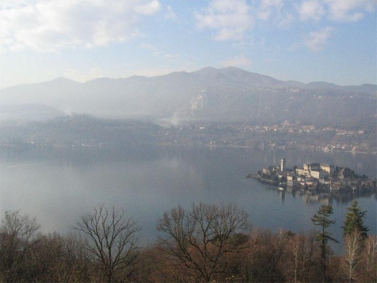 Orta Lake from Sacro Monte di Orta