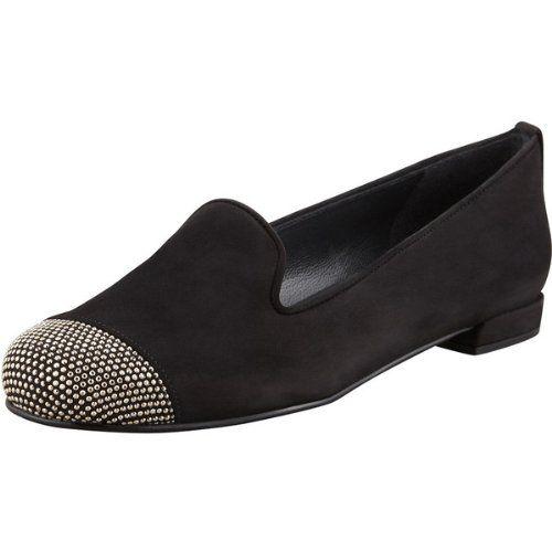 Stuart Weitzman Women's Lingo Loafer (Black Nubuck, 7) Stuart Weitzman,http://www.amazon.com/dp/B009YMW48Q/ref=cm_sw_r_pi_dp_A1cZsb1KKN6Z6HQB