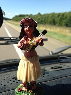 We need one of these for our #Westy Mork. Grin. (From my own blog - our Dashboard Hula girl)