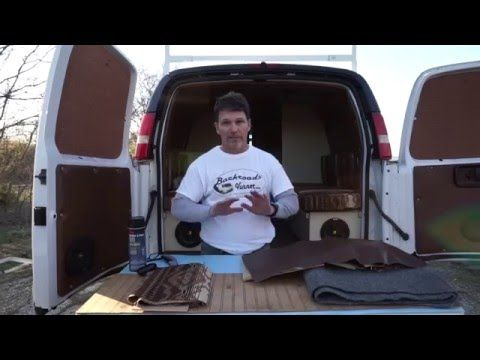 Van Life: DIY Cargo Van to Camper Van Interior - How To Insulate & Upholster Van Walls & Ceiling - YouTube