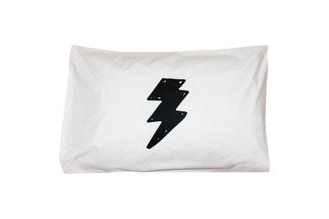 Flash Lightning Bolt Pillowcase - Single
