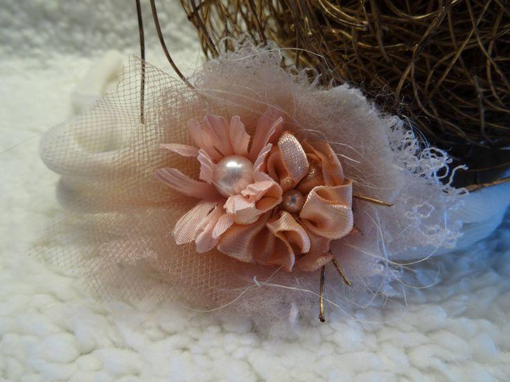 Baby Haarband apricot Newborn photo prop Fotoaccessoires Baby Fotografie Kopfband Stirnband newborn shooting Requisiten HANDMADE von MoniCasaExclusive auf Etsy