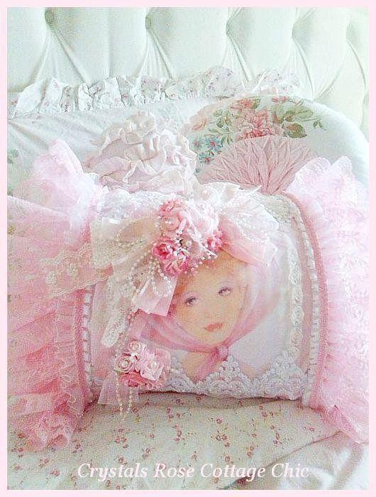 Shabby Pink Victorian Romance Boudoir Pillow Shabby Chic,Romantic,Victorian Pinterest ...