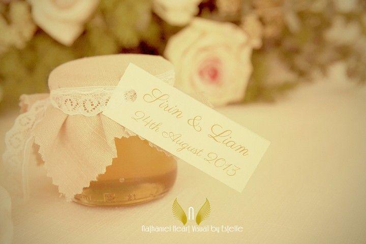 Personalized wedding jar  by Michela & Michela www.italianweddingcompany.com