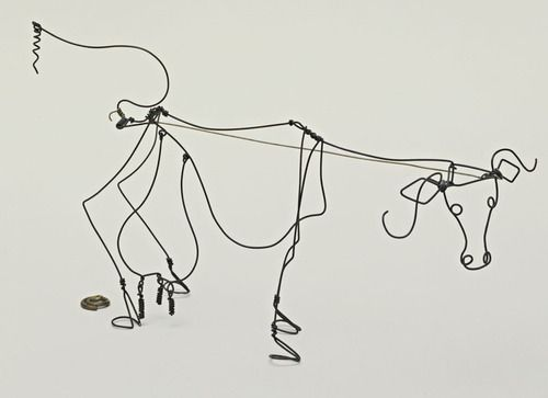 CalderCalder Wire, Alexandre Calder, Alexander Calder, Calder 3D, Calderthoma Hills, Calder Jpg 500 363, Calder La Vacas, Kids Funny, Cows