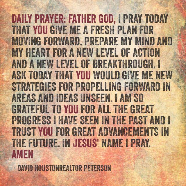Daily Prayer Quotes. QuotesGram