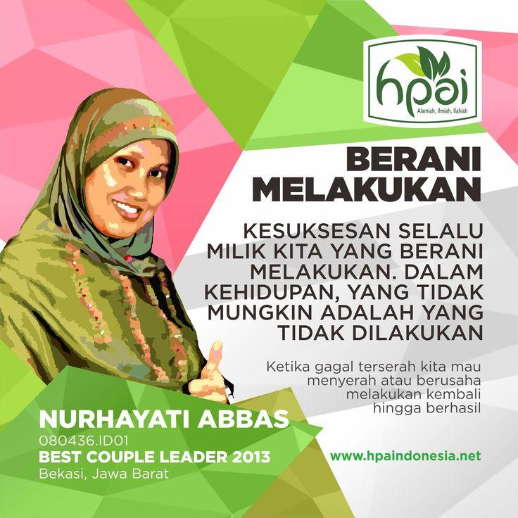 Nurhayati Abbas - LED HPAI Best Couple Leader 2013