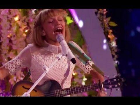 Grace VanderWaal: Finale Performance (FULL HD) 'Baby, I'm Not Clay' | America's Got Talent 2016 - YouTube