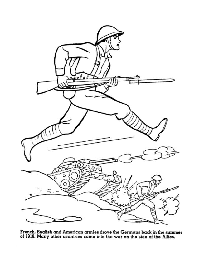 us history coloring page