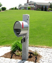 87 best Designer Mailboxes images on Pinterest Copper mailbox