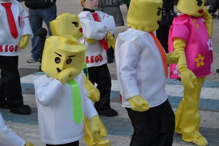 El Carnaval infantil que se celebró el lunes contó con una gran participación.