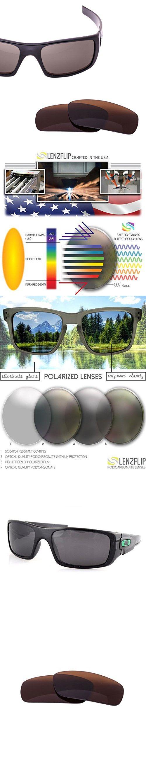 Oakley Crankshaft Lens Replacement - Brown Polarized Lenses