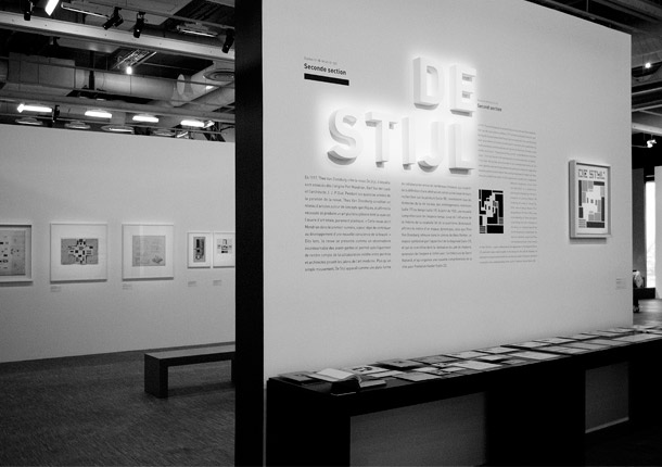 Centre Pompidou  - Mondrian De Stijl exhibition