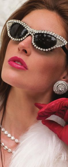 Diamond Studded Glasses.... The House of Beccaria