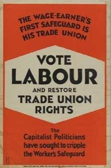 Labour Party poster from 1929