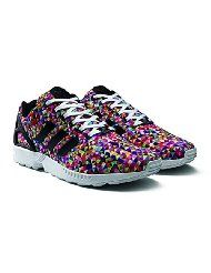Adidas ZX Flux Multicolor Prism Sneaker Review