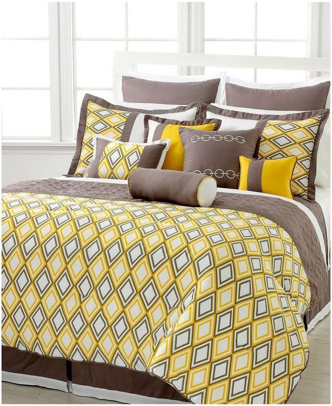 Picture Of Yellow Comforter Sets