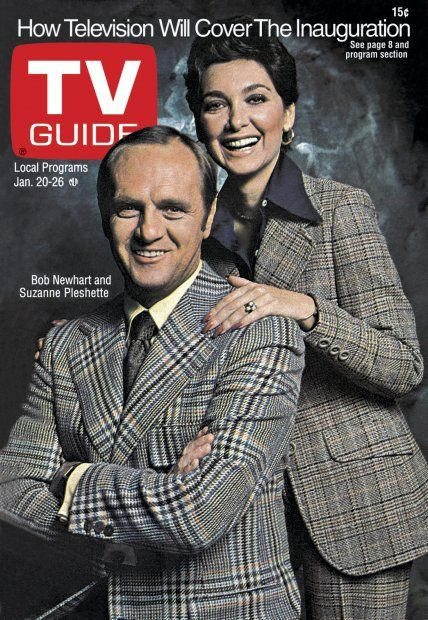 January 20, 1973 ... Bob Newhart and Suzanne Pleshette on TV guide cover