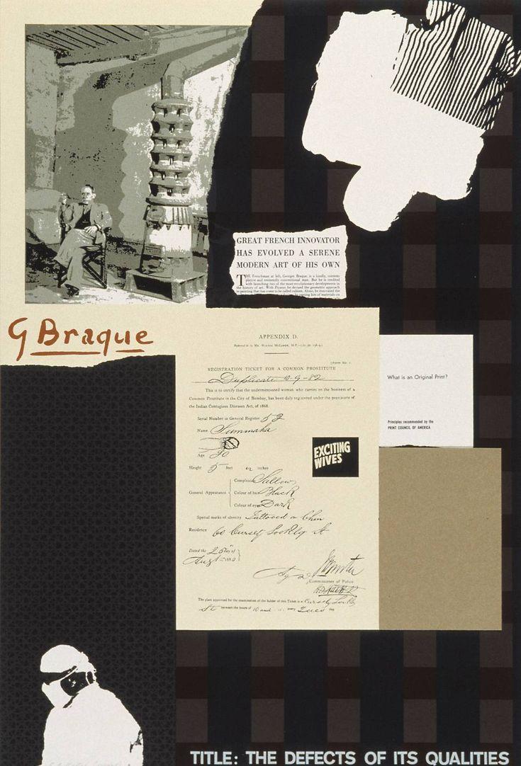 'The Defects of its Qualities', R.B. Kitaj | Tate