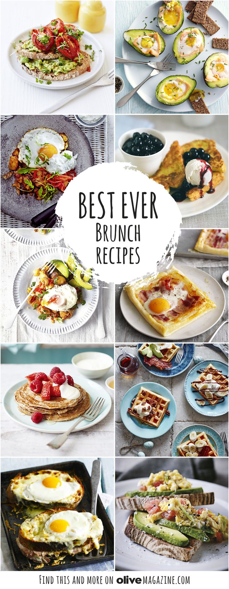 Brunch is such a luxury, and an easy way to enjoy a lazy weekend. Make one of our recipes for avocado on toast, ricotta pancakes and French toast, or our indulgent eggs recipes.