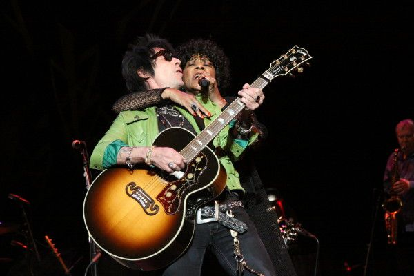 Rock Hall Music Masters Stones Tribute Concert, Merry Clayton and Earl Slick