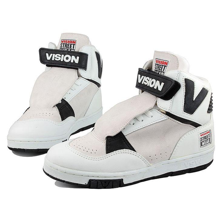 Vision DV8 Hightops . Vintage Vision Street Wear Shoes . Vision Skate Shoes   eBay