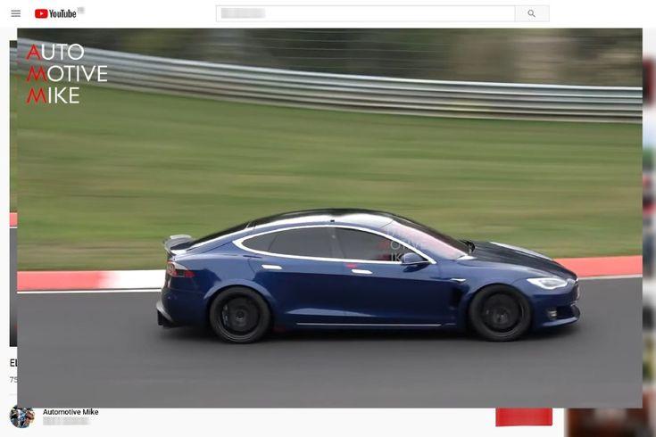 Tesla Model S Plaid (2020) auf dem Nürburgring: zwei neue Video-Prototypen   – Actu