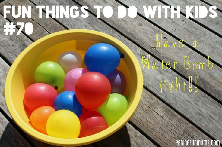 Fun Thingsto Do With Kids