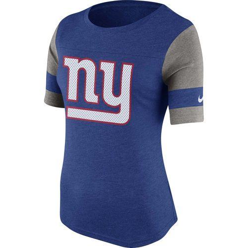 Women's New York Giants Nike Royal Blue Stadium Fan Top