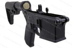 Ruger® AR-Lower Elite, Two-stage Elite 452 AR-Trigger, Magpul MOE Stock, Black, New.