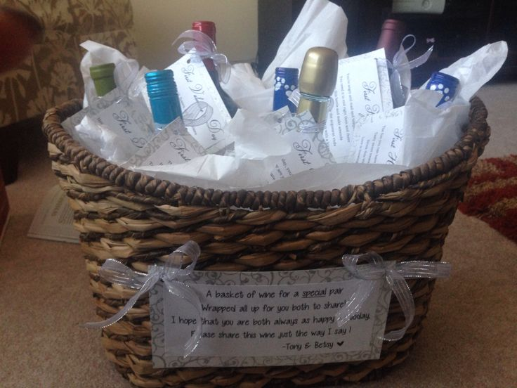Wine Gifts For Wedding: 95 Best Diy Wedding Wine Basket Ideas Images On Pinterest